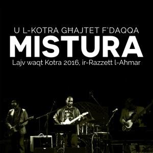 Mistura live album cover for bandcamp